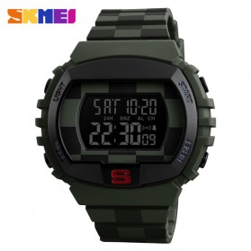 SKMEI Jam Tangan Digital Sporty Pria - 1304 - Army Green