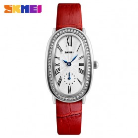 SKMEI Jam Tangan Analog Wanita - 1292 - Silver/Red