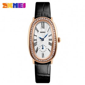 SKMEI Jam Tangan Analog Wanita - 1292 - Rose Gold/Black