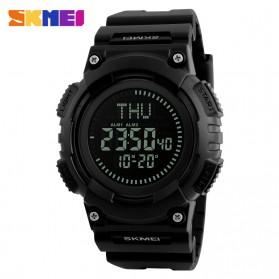 SKMEI Jam Tangan Digital Pria Dengan Kompas - 1259 - Black