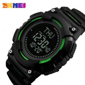 SKMEI Jam Tangan Digital Pria Dengan Kompas - 1259 - Black - 2