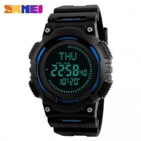 SKMEI Jam Tangan Digital Pria Dengan Kompas - 1259 - Blue