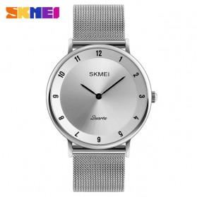 SKMEI Jam Tangan Analog Pria Stainless Steel - 1264 - Silver Black