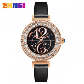 SKMEI Jam Tangan Fashion Wanita - 9158 - Black