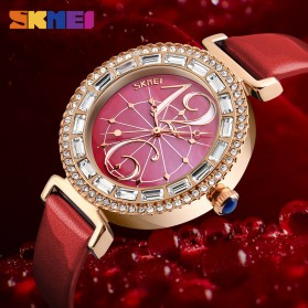 SKMEI Jam Tangan Fashion Wanita - 9158 - Red - 6