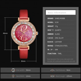 SKMEI Jam Tangan Fashion Wanita - 9158 - Red - 8
