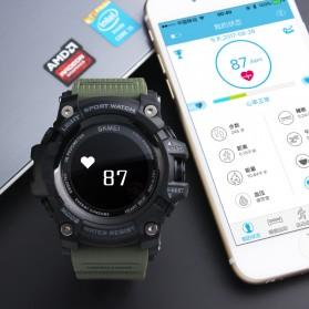 SKMEI Jam Tangan Sporty Smartwatch Bluetooth - 1188 - Black - 2