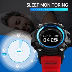SKMEI Jam Tangan Sporty Smartwatch Bluetooth - 1188 - Black - 4