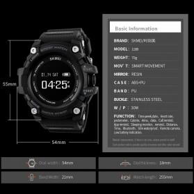 SKMEI Jam Tangan Sporty Smartwatch Bluetooth - 1188 - Black - 5