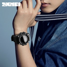 SKMEI Jam Tangan Sporty Smartwatch Bluetooth - 1188 - Black - 6