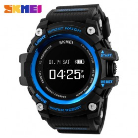 SKMEI Jam Tangan Sporty Smartwatch Bluetooth - 1188 - Blue
