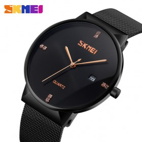 SKMEI Jam Tangan Analog Pria Stainless Steel - 9164 - Black