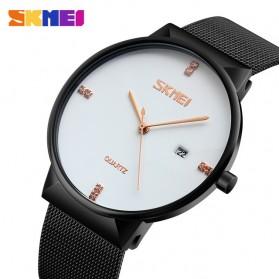 SKMEI Jam Tangan Analog Pria Stainless Steel - 9164 - White