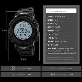SKMEI Jam Tangan Digital Multifungsi Pria - 1236 - Black - 6