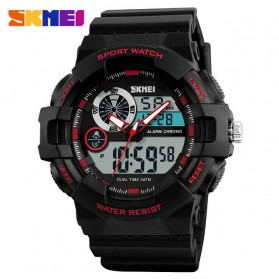 SKMEI Jam Tangan Digital Analog Pria - 1312 - Red