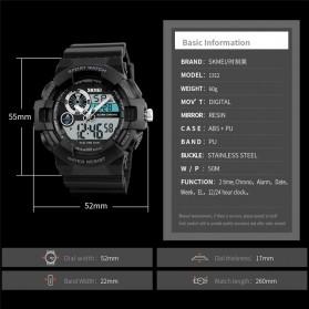 SKMEI Jam Tangan Digital Analog Pria - 1312 - Blue - 4