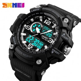 SKMEI Jam Tangan Digital Analog Pria - 1283 - Black
