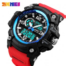 SKMEI Jam Tangan Digital Analog Pria - 1283 - Red
