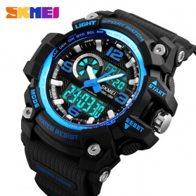 SKMEI Jam Tangan Digital Analog Pria - 1283 - Blue - 1