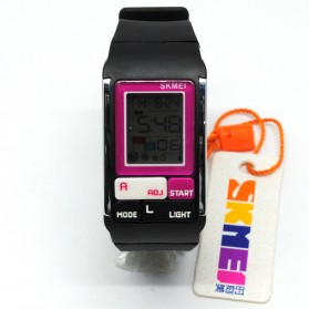 SKMEI Jam Tangan Fashion Digital Wanita - 1276 - Black/Purple