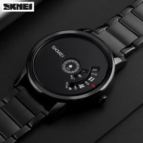 SKMEI Jam Tangan Analog - 1260 - Matte Black - 2