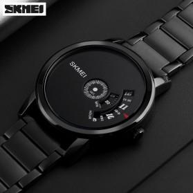 SKMEI Jam Tangan Analog - 1260 - Silver Black - 3