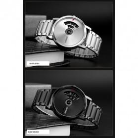 SKMEI Jam Tangan Analog - 1260 - Silver Black - 5