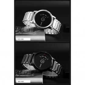 SKMEI Jam Tangan Analog - 1260 - Silver Black - 6