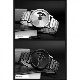 SKMEI Jam Tangan Analog - 1260 - Dark Silver - 5