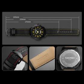 SKMEI Jam Tangan Analog Design Pria - 9170 - Black - 5