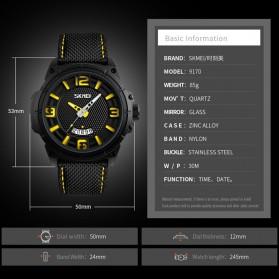SKMEI Jam Tangan Analog Design Pria - 9170 - Black - 6