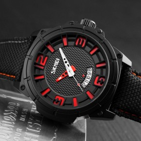 SKMEI Jam Tangan Analog Design Pria - 9170 - Red - 3