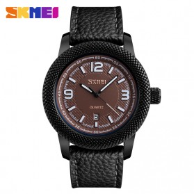 SKMEI Jam Tangan Analog Kasual Pria - 9138 - Brown