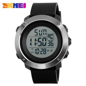 SKMEI Jam Tangan Digital Pria Size Small - DG1267 - Black
