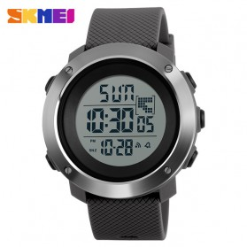 SKMEI Jam Tangan Digital Pria Size Small - DG1267 - Gray