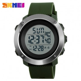 SKMEI Jam Tangan Digital Pria Size Small - DG1267 - Green