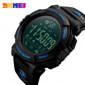 SKMEI Jam Tangan Olahraga Smartwatch Bluetooth - 1303 - Black Blue - 2