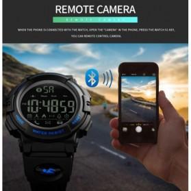 SKMEI Jam Tangan Olahraga Smartwatch Bluetooth - 1303 - Black Blue - 7