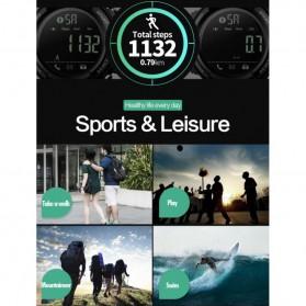 SKMEI Jam Tangan Olahraga Smartwatch Bluetooth - 1303 - Black/Black - 6