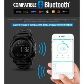 SKMEI Jam Tangan Olahraga Smartwatch Bluetooth - 1303 - Black/Black - 8