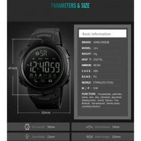 SKMEI Jam Tangan Olahraga Smartwatch Bluetooth - 1301 - Black - 7