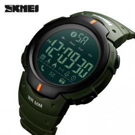 SKMEI Jam Tangan Olahraga Smartwatch Bluetooth - 1301 - Army Green - 2