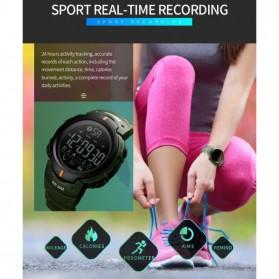 SKMEI Jam Tangan Olahraga Smartwatch Bluetooth - 1301 - Army Green - 5