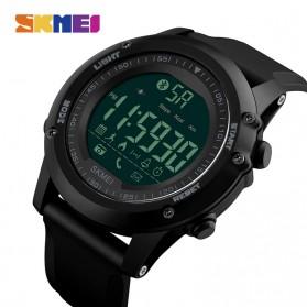SKMEI Jam Tangan Olahraga Smartwatch Bluetooth - 1321 - Black - 2