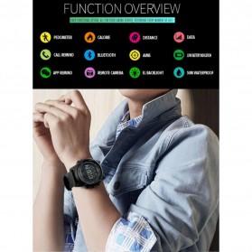 SKMEI Jam Tangan Olahraga Smartwatch Bluetooth - 1321 - Black - 3