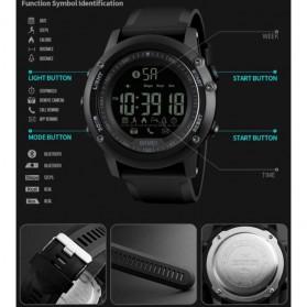 SKMEI Jam Tangan Olahraga Smartwatch Bluetooth - 1321 - Black - 4
