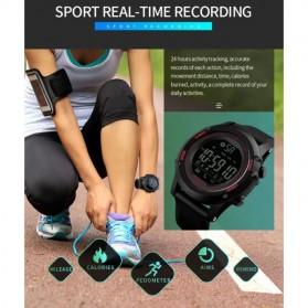 SKMEI Jam Tangan Olahraga Smartwatch Bluetooth - 1321 - Black - 5