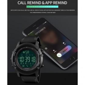 SKMEI Jam Tangan Olahraga Smartwatch Bluetooth - 1321 - Black - 7