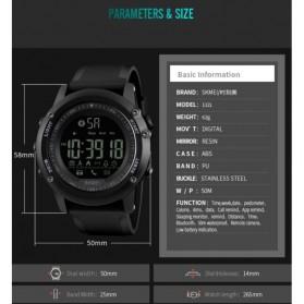 SKMEI Jam Tangan Olahraga Smartwatch Bluetooth - 1321 - Black - 8
