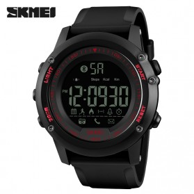 SKMEI Jam Tangan Olahraga Smartwatch Bluetooth - 1321 - Red